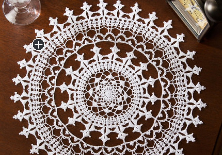 Experienced Crochet Affinity Doily