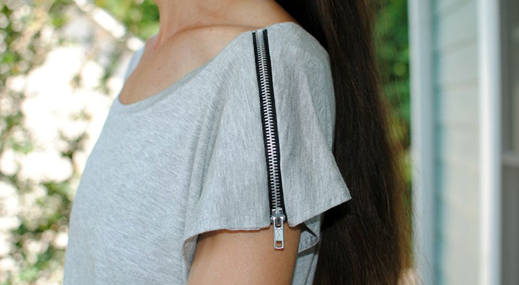 DIY Zip Tee | Pattern Tutorial