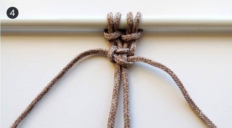 How To Make 6 Common Macrame Knots and Patterns Square Knot