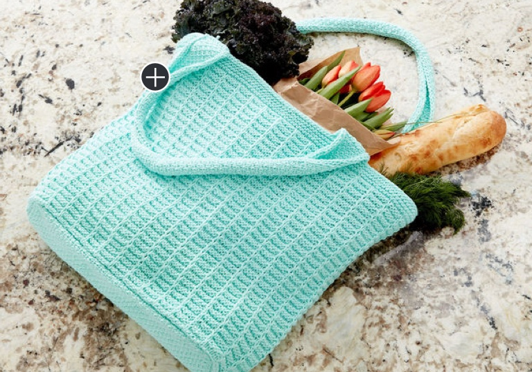 Easy Knit Market Tote