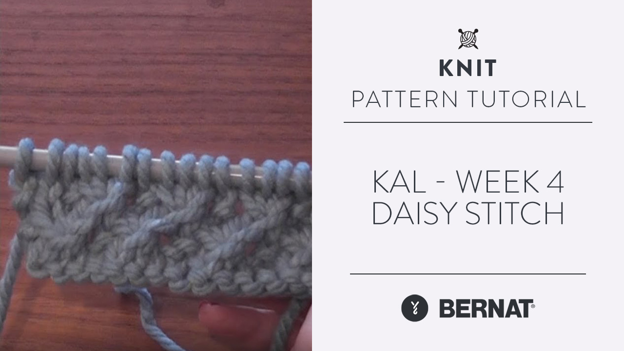 KAL - Week 4 - Daisy Stitch