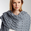 Elegant Lace Shawl in Patons Silk Bamboo | Blog