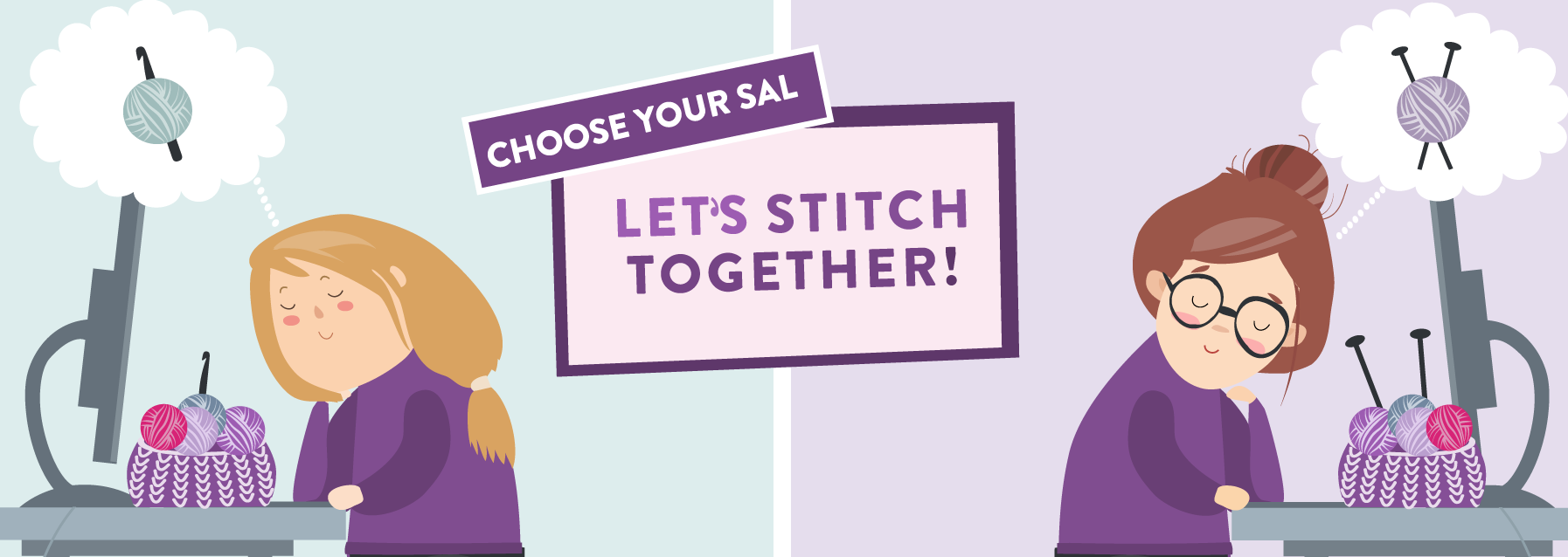 Let's Stitch Together Choose Your SAL