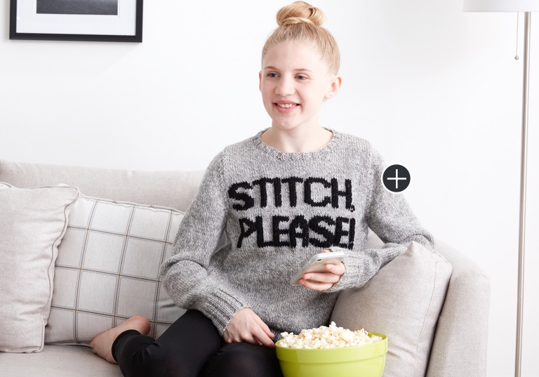 Easy Stitch Please! Sweater