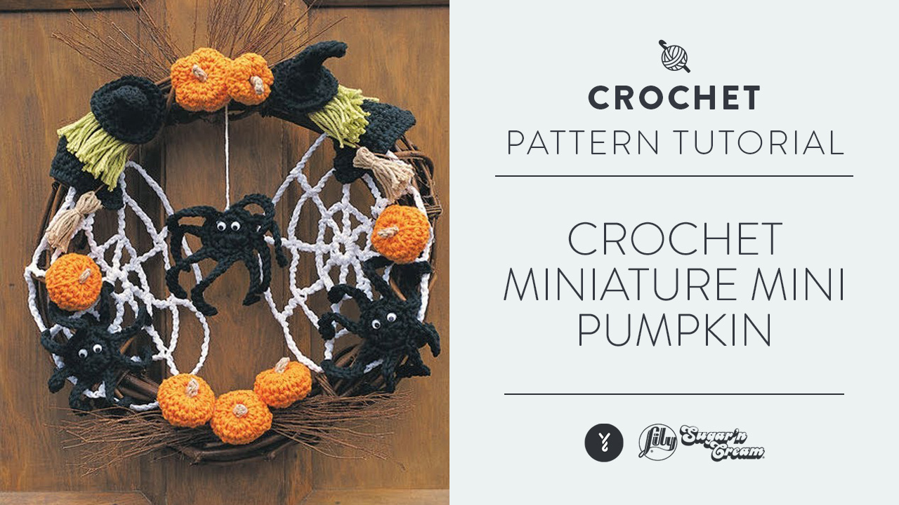 Crochet Miniature Mini Pumpkin