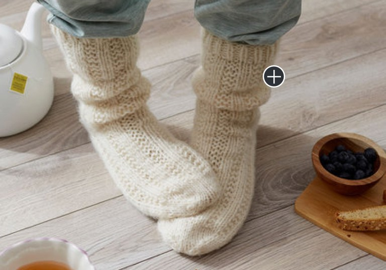 Intermediate Relaxation Knit Socks