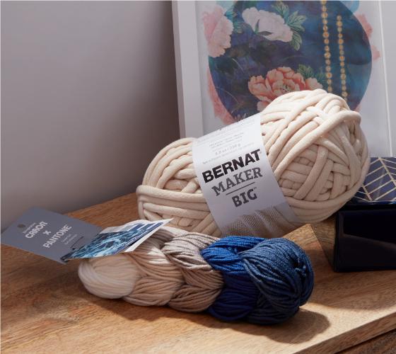 Bernat Fringe It Crochet Basket 1