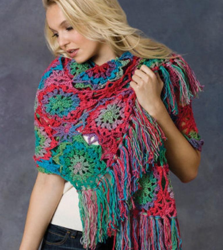 Intermediate Crochet Lorelei Shawl