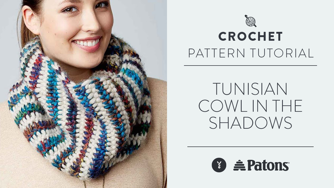 Tunisian: Cowl in the Shadows