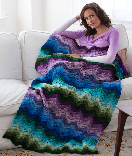 LW4810 Radiating Ripple Throw