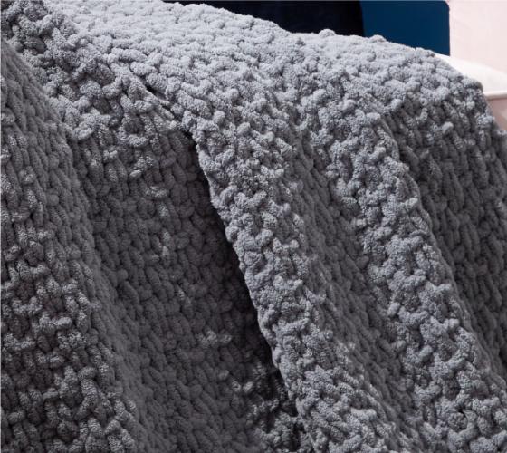 Bernat Alize EZ Seed Stitch Blanket 2