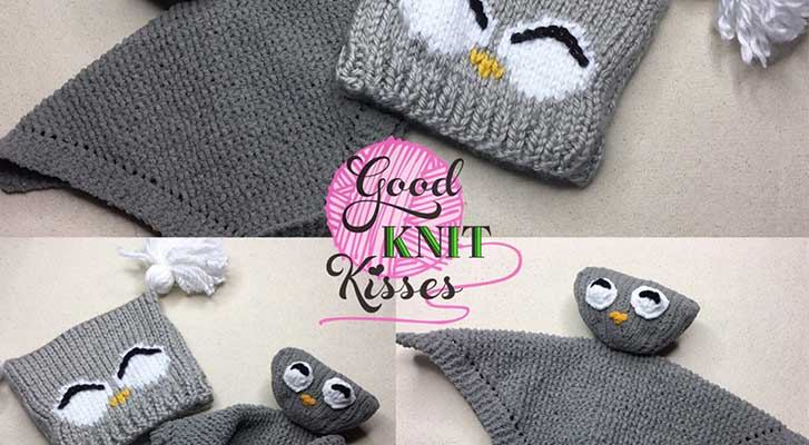 Quick and Easy: Owl Knit Lovey