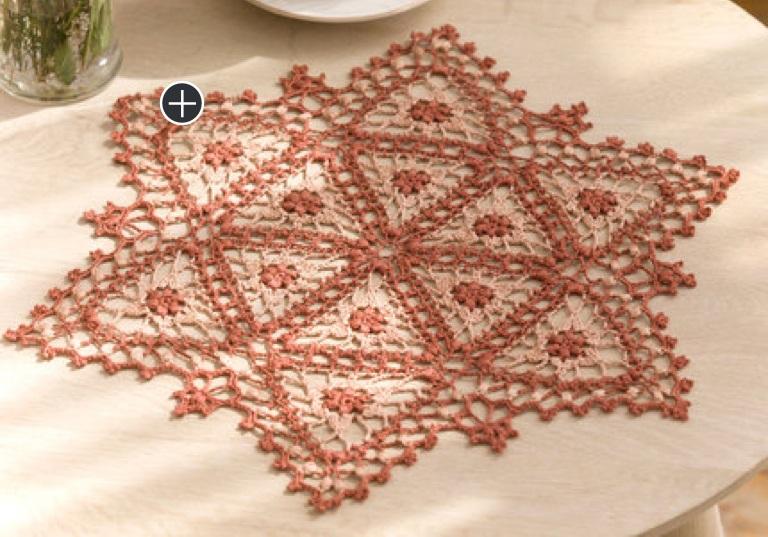 Experienced Crochet Fairfax Doily