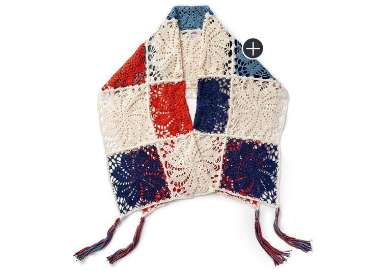 Pinwheel Crochet Shawl
