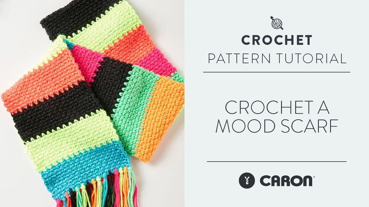 Crochet A Mood Scarf