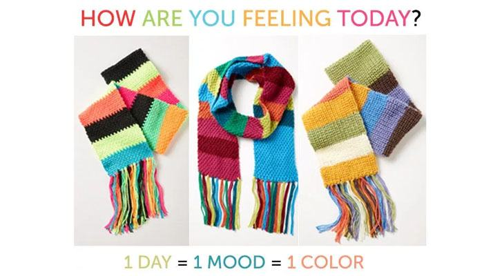 Let's Crochet a Mood Scarf together!