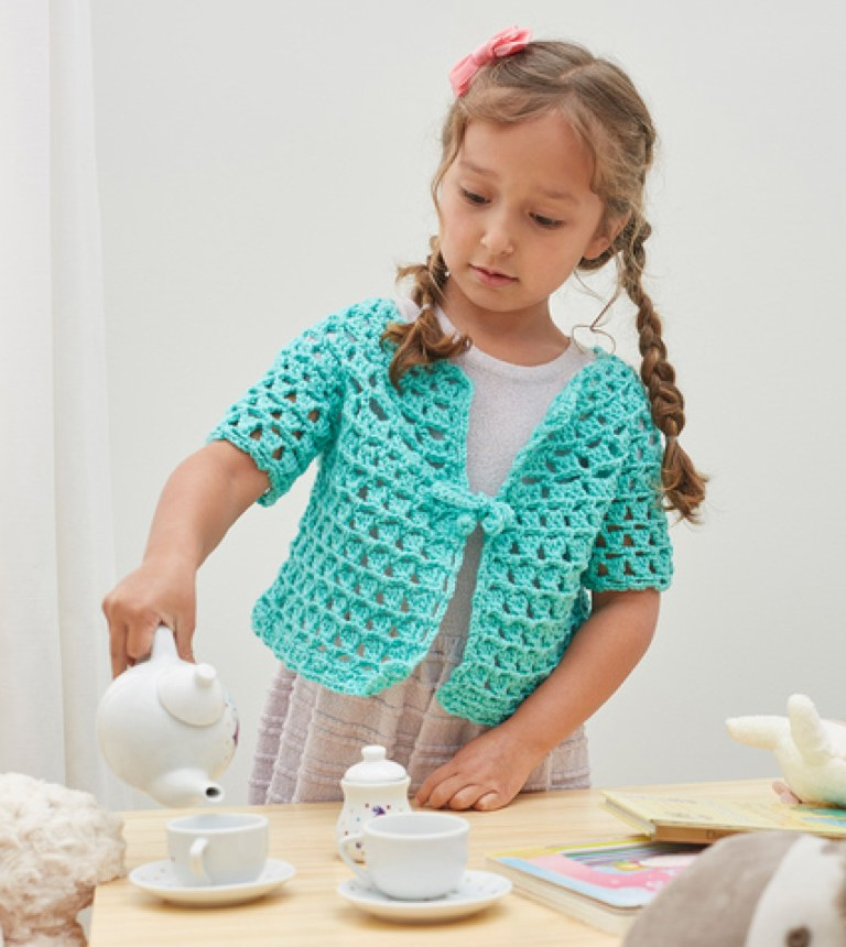 Easy Tea Party Cardigan
