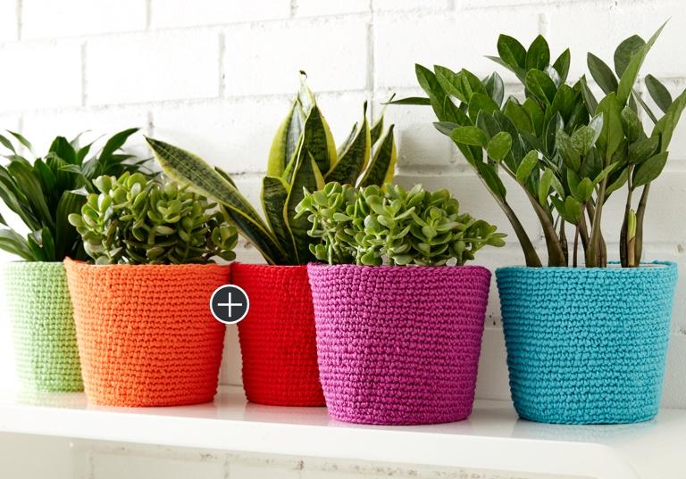 Easy Simple Flower Pot Cozy