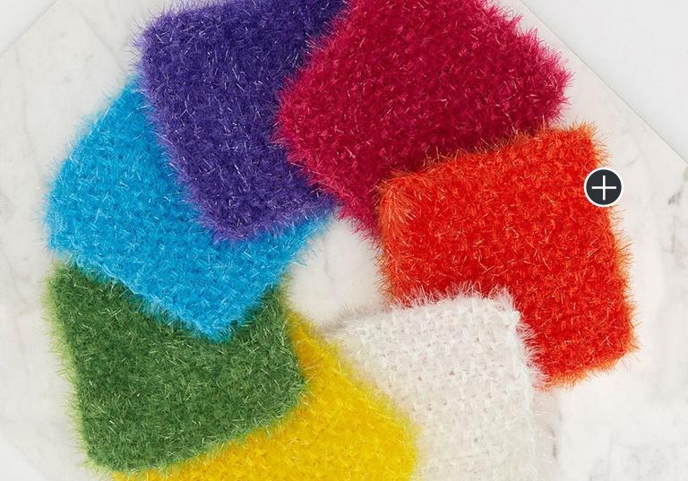 Easy Week of Knit Scrubbies