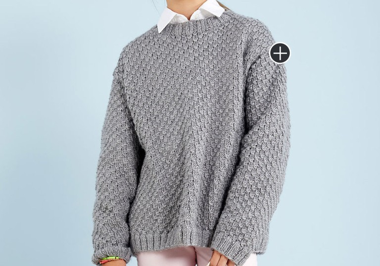 Easy Awesome, Cool Knit Sweater