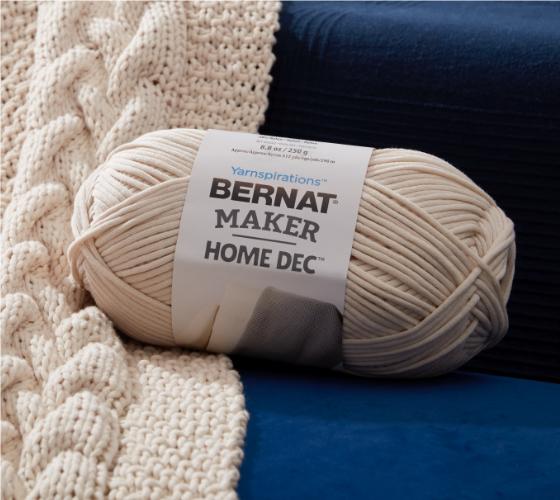 Bernat Tuck Stitch Knit Blanket 2