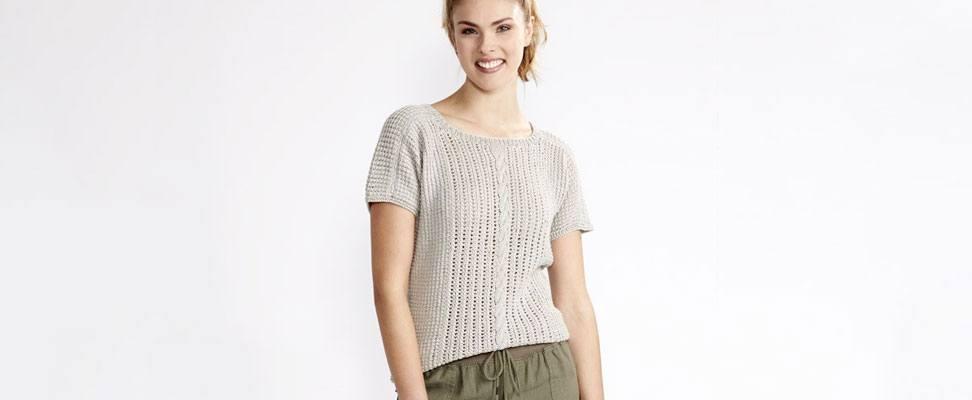 Breezy Dolman Knit Top-XS/S