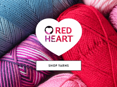 Red heart Brand Yarns