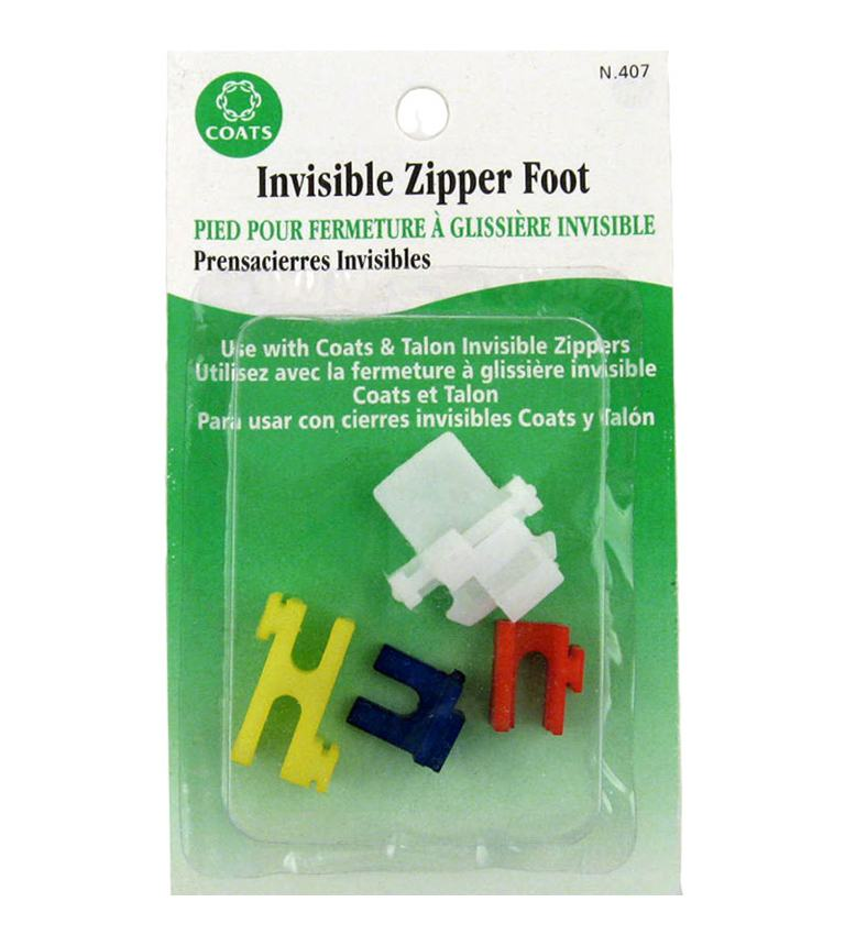 The Invisible Zipper Foot