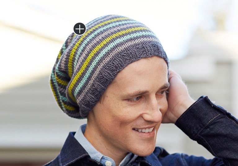 Easy Super Slouchy Chic Knit Hat
