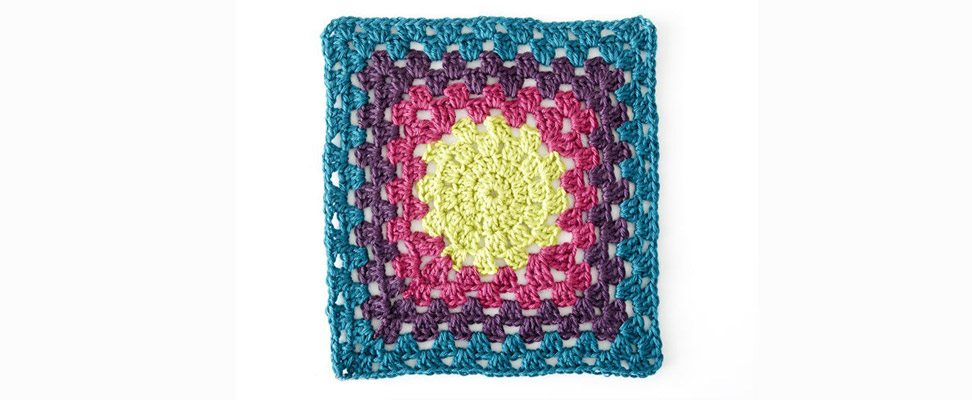 Color Harmony Granny Square