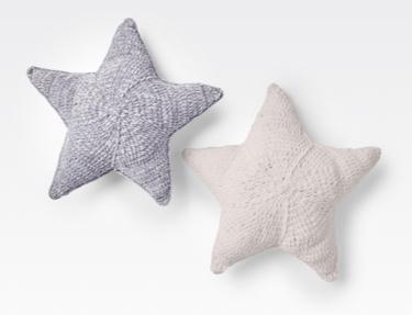 Easy Crochet Twinkle Star Pillows