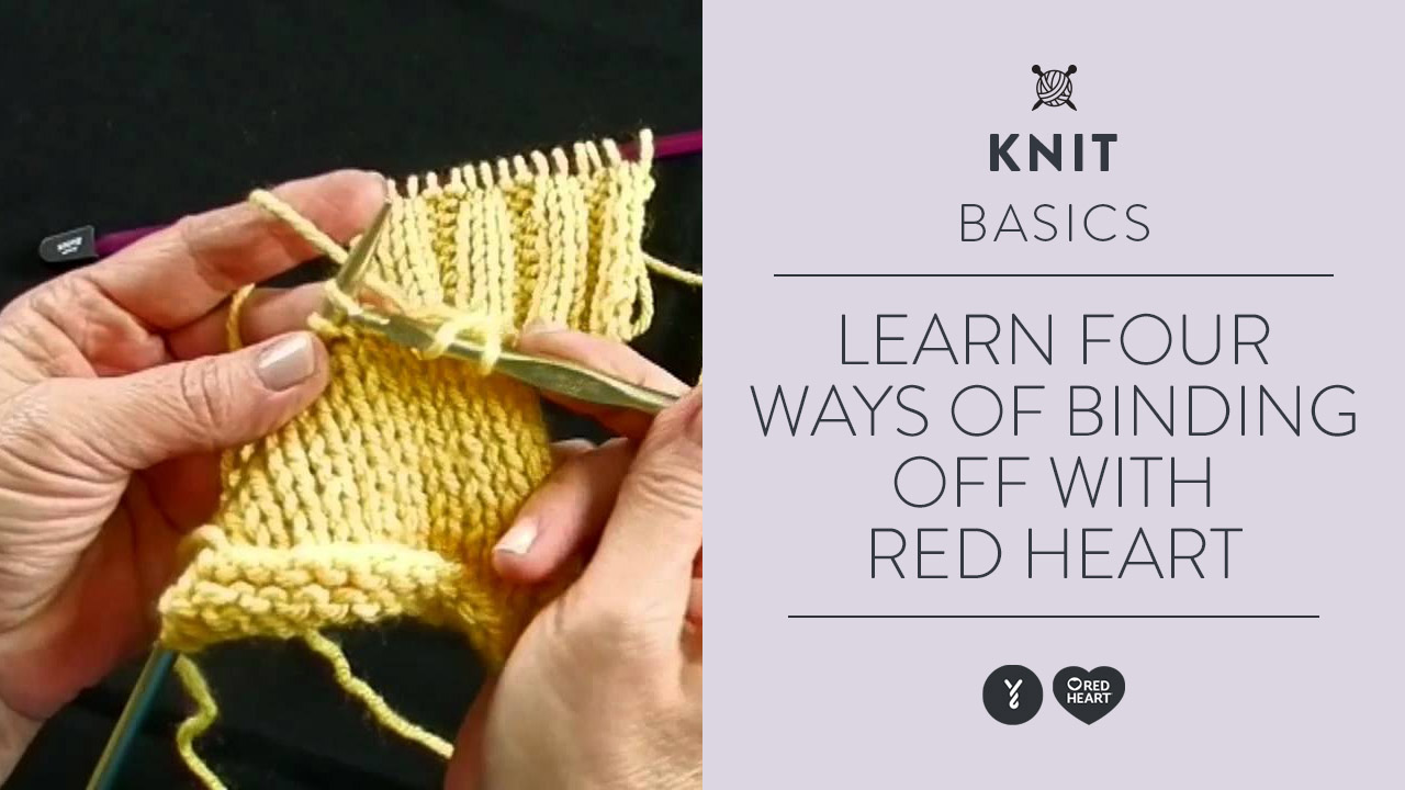 Learn Four Ways of Binding Off