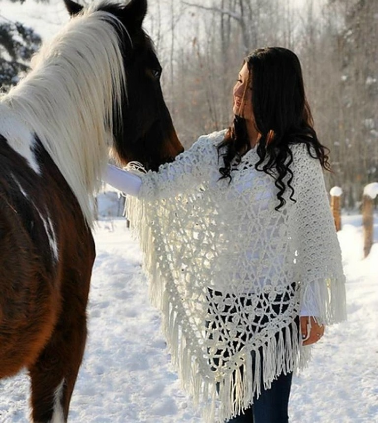Sincerely Pam Butterfly Breeze Poncho