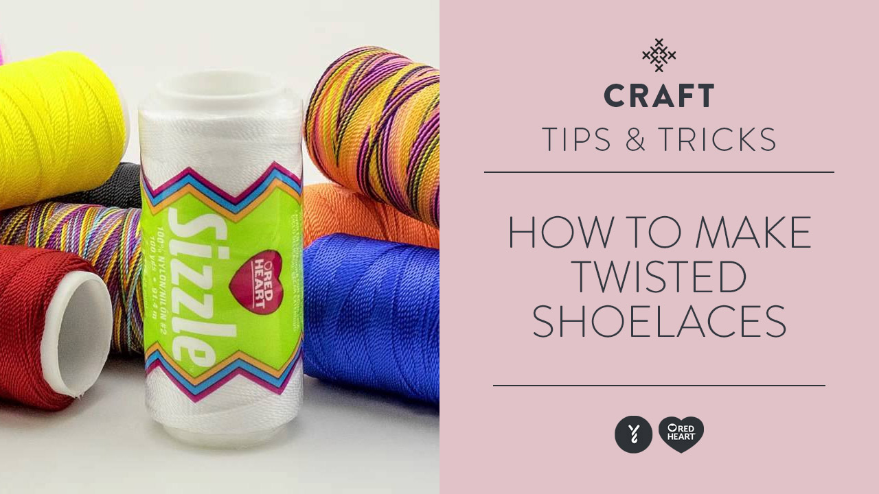 How to Make Twisted Shoelaces