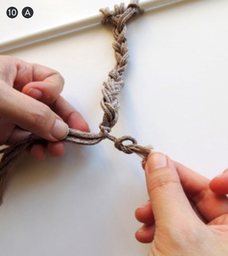 How To Make 6 Common Macrame Knots and Patterns Braid with Half Hitch and Overhand Knot