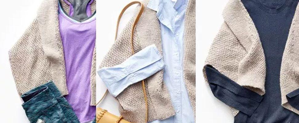 Knit Envelope Cardigan