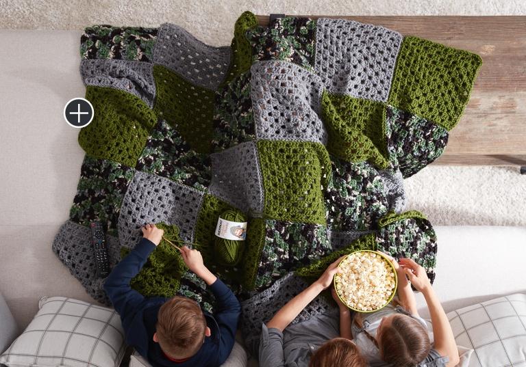 Beginner How to Crochet A Blanket