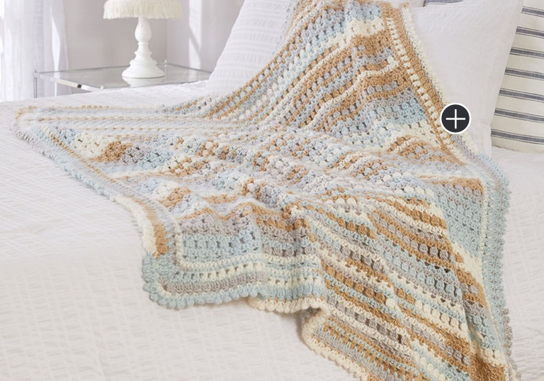 Easy Crochet Summer Breeze Throw