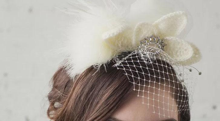 Patons Lace Wedding Fascinator