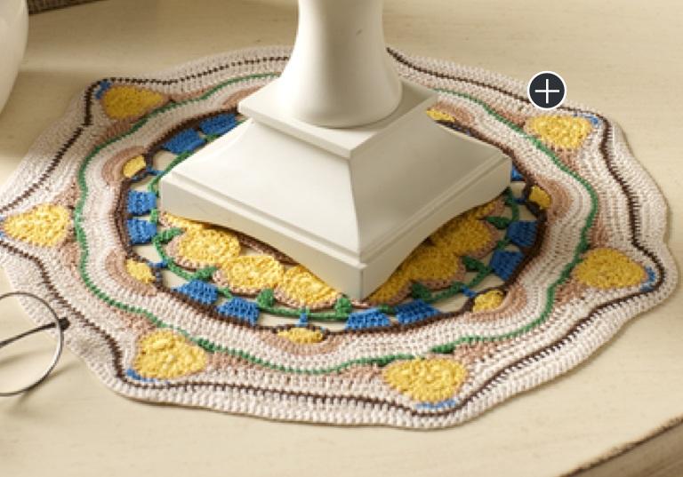 Experienced Crochet Sun Blossom Mandala Doily