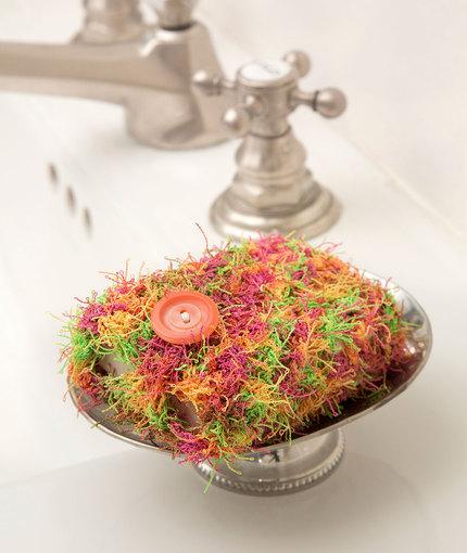 LW5115 Soap Pocket Scrubby Crochet Pattern