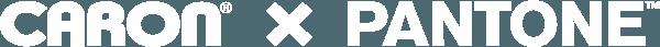 Caron x Pantone logo