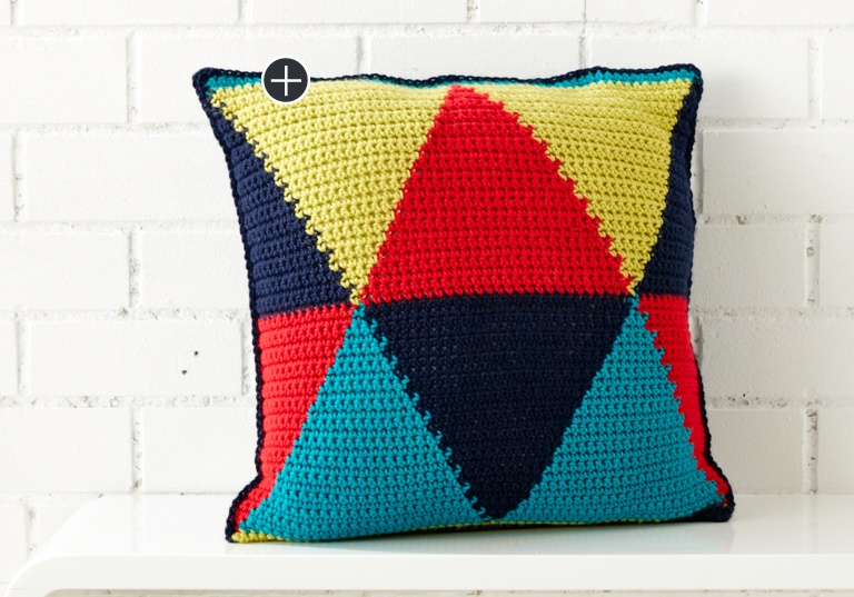 Intermediate Bold Angles Pillow