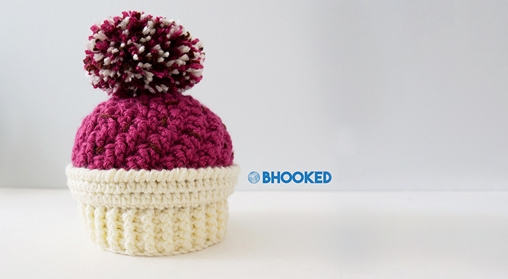 Ice Cream Swirl Crochet Hat