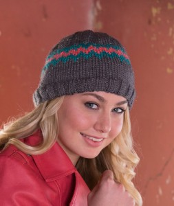 LW4745 Chevron Sparkle Hat