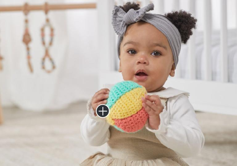 Beginner Baby's First Crochet Beach Ball