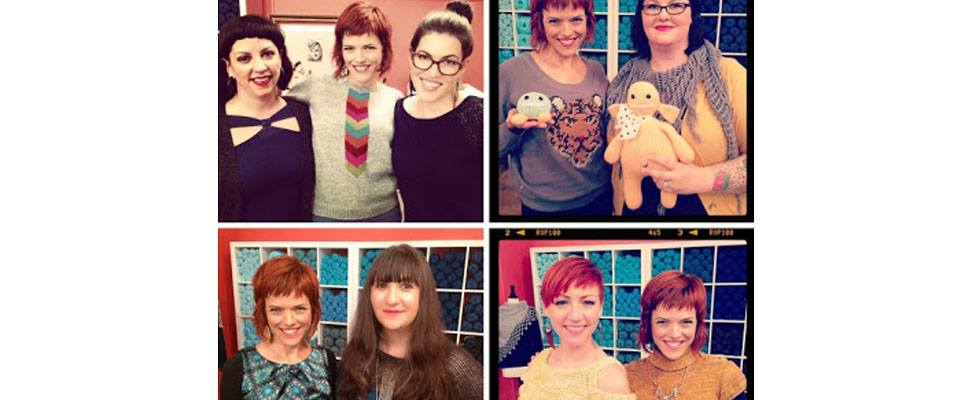 Knitting Daily Show with Vickie Howell Studio