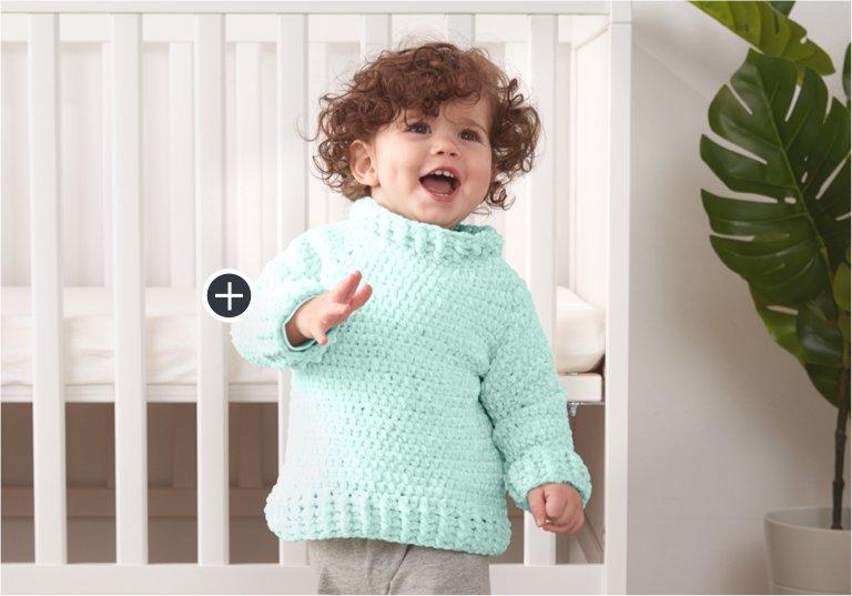 Easy Crochet Sweater