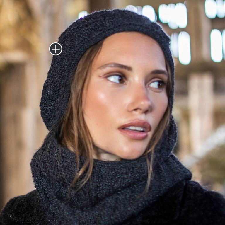 Intermediate Knit Haute Hood