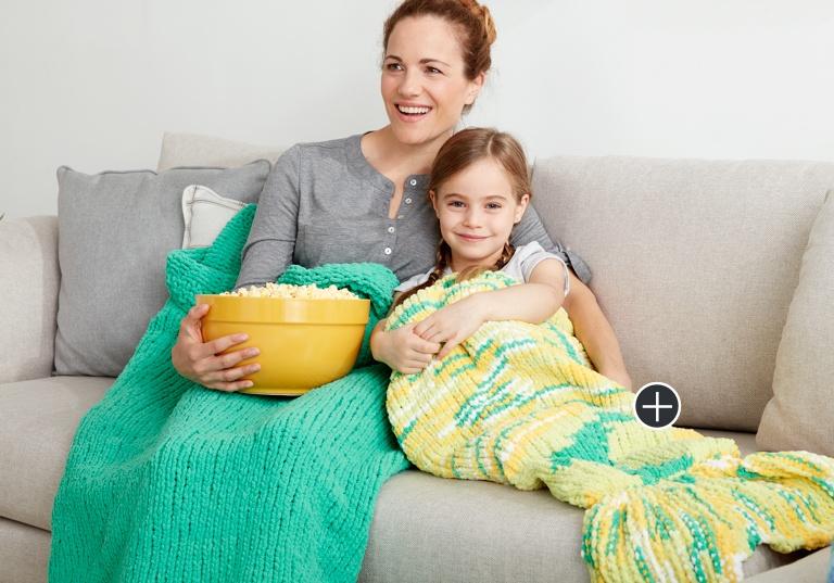 Easy Mermaid Tail Snuggle Sack